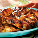 Memphis-Style Sweet and Spicy BBQ Chicken