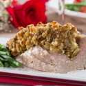Roasted Pork Tenderloin with Country Stuffing
